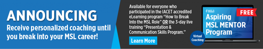Aspiring MSL Mentor Program